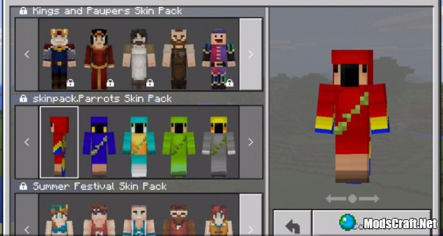Мод NewMobs Skin Pack 1.2