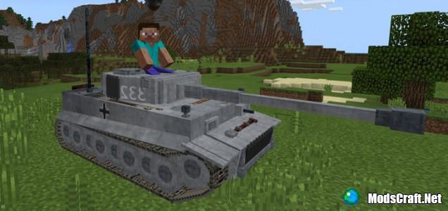 Мод Tank (Tiger I) Addon 1.2/1.1