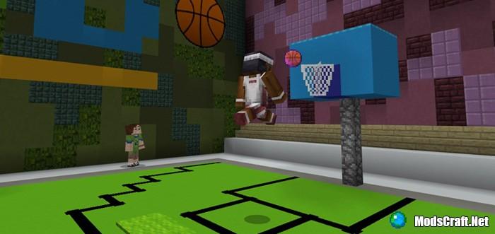 Карта Basketball (SkyGames) [Мини-игра]