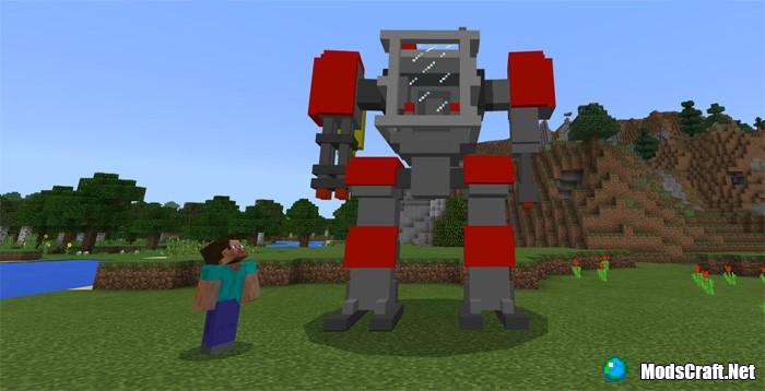 Мод AdventureRobot Addon 1.2/1.1/1.0
