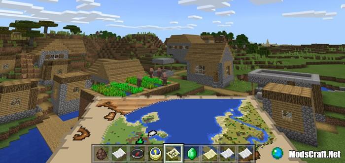 Мод Village Locator 1.2/1.1
