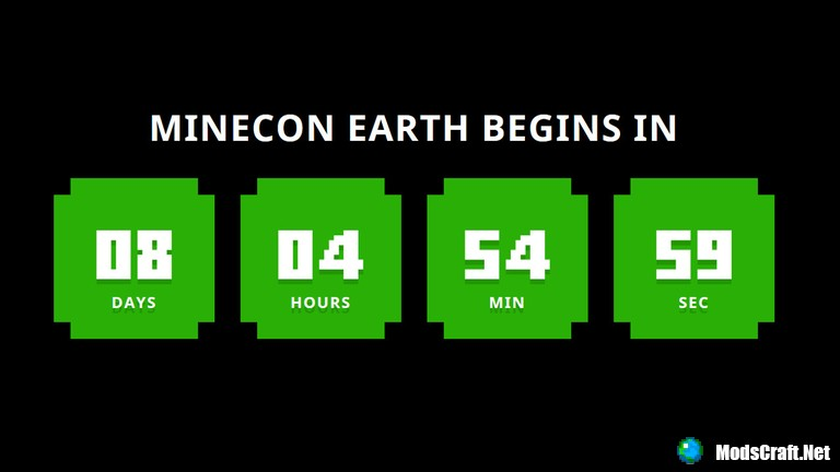 Одна неделя до Minecon 2017!