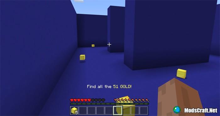 Карта Pacman The Minecraft Version [Мини-игра]