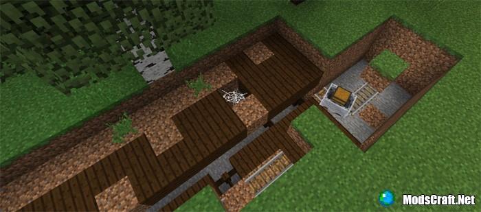 Заброшенные шахты на поверхности [1.2.x]