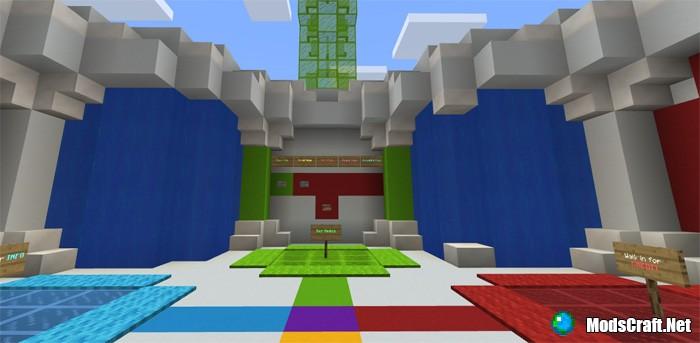 Карта SG Elytra Party [Мини-игра]
