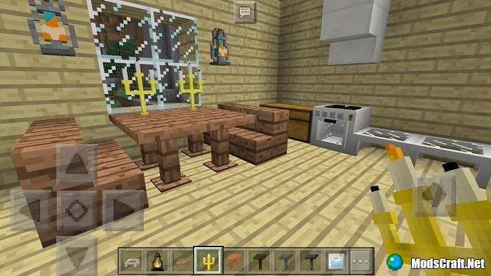 Мод SlePE Furniture (Android/Inner Core)