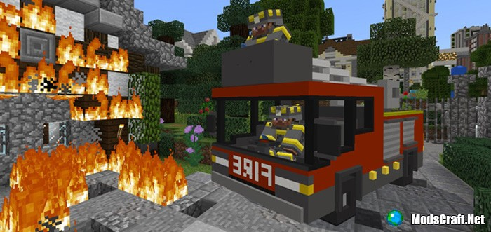 Мод FireEngine Addon 1.2