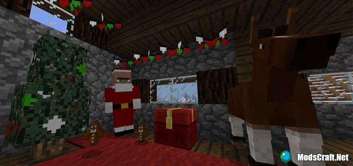 Мод Christmas Addon 1.2
