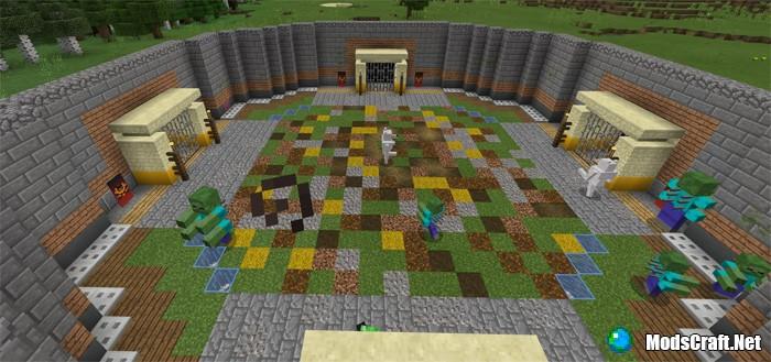 Карта The Monster Arena [Выживание/мини-игра]