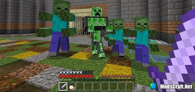 Minecraft: карманное издание видео игра craft выживание.