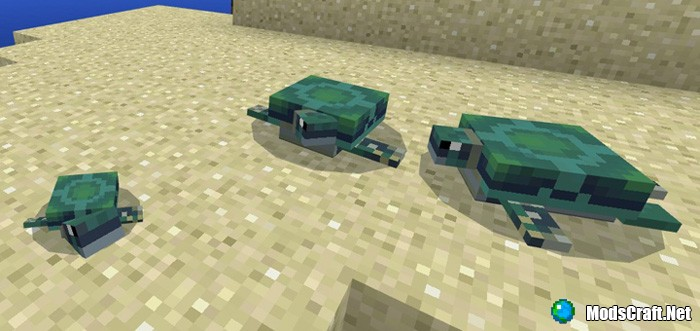 Мод The Turtles Addon (Концепт) 1.2
