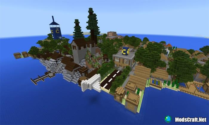 Карта Caden Island [Творческие]