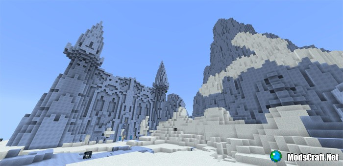 Карта Fractured World [Приключение]