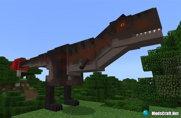 Мод Jurassic Craft 1.2/1.1/1.0/0.16.1