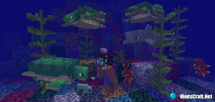 Мод The Update Aquatic Addon (Концепт!)