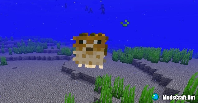 Рыбы в Minecraft 1.3