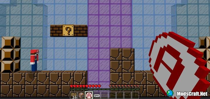 Карта Super Mario Brothers [Мини-игра]