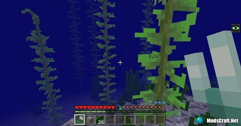 Подводный зомби в Minecraft 1.3?