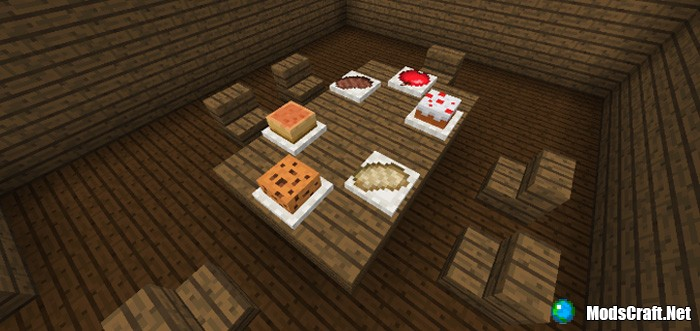 Мод Placeable Food 1.2
