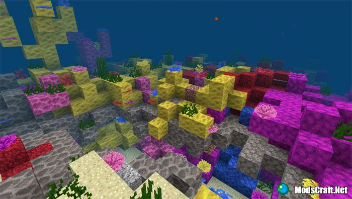 Затонувший корабль и коралловый риф [1.3+]