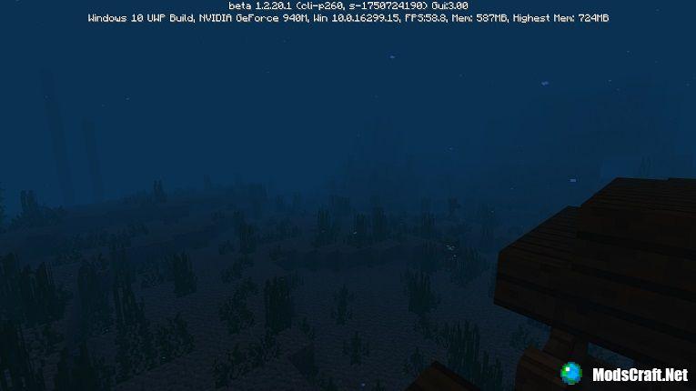 Minecraft Beta 1.2.20 - дельфины!