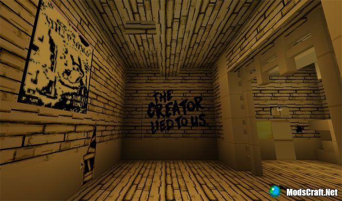 Карта Bendy Game Horror [Приключение]