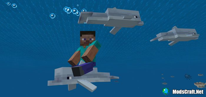 Мод Controllable Rideable Dolphins 1.3