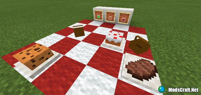 Мод Placeable Food 1.3/1.2