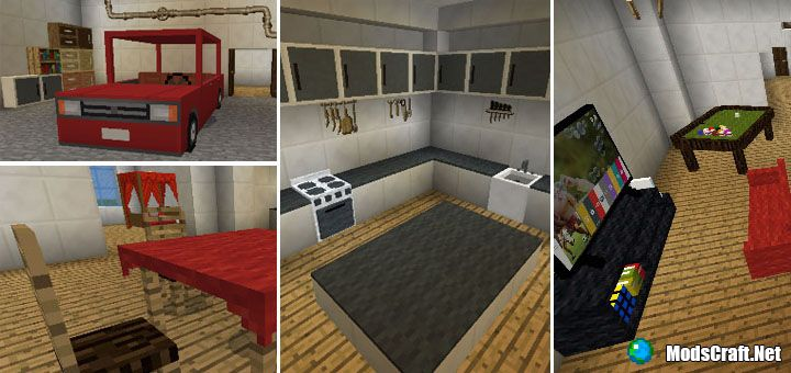 Мод Furnicraft Addon 1.13/1.11/1.8