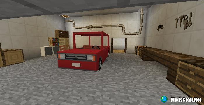 Мод Furnicraft Addon 1.6/1.4/1.2