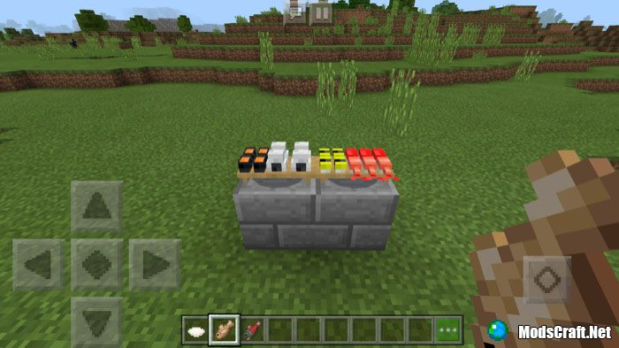 Мод Placeable Food 1.6/1.4/1.2