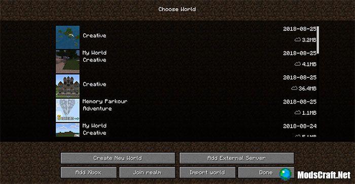 Текстур пак UIPack Classic 1.7/1.6/1.4