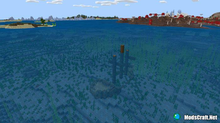 Деревня и затонувший корабль [1.4+]