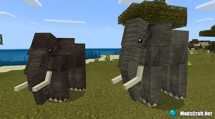 Мод Elephants and Mammoths 1.8+