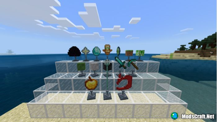 Мод Trophies Stand 1.10/1.8