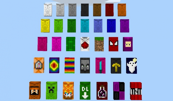 Мод Wearable Cape Banners 1.12+