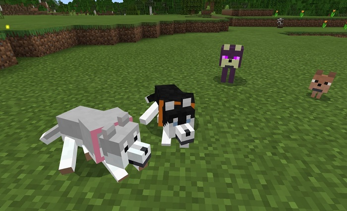 Мод Wolves+ 1.12+