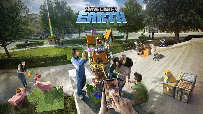 Скачать Minecraft Earth [Android]
