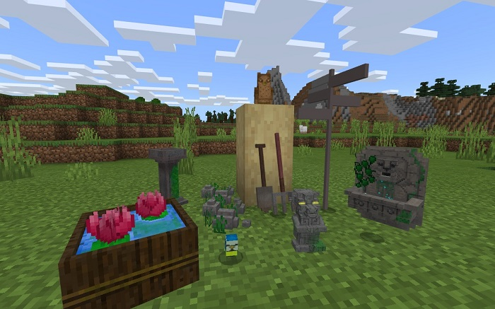 моды minecraft pocket edition