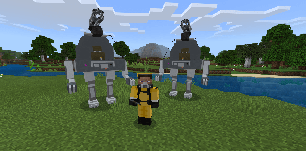 Мод Mechs and Jetpacks 1.16+