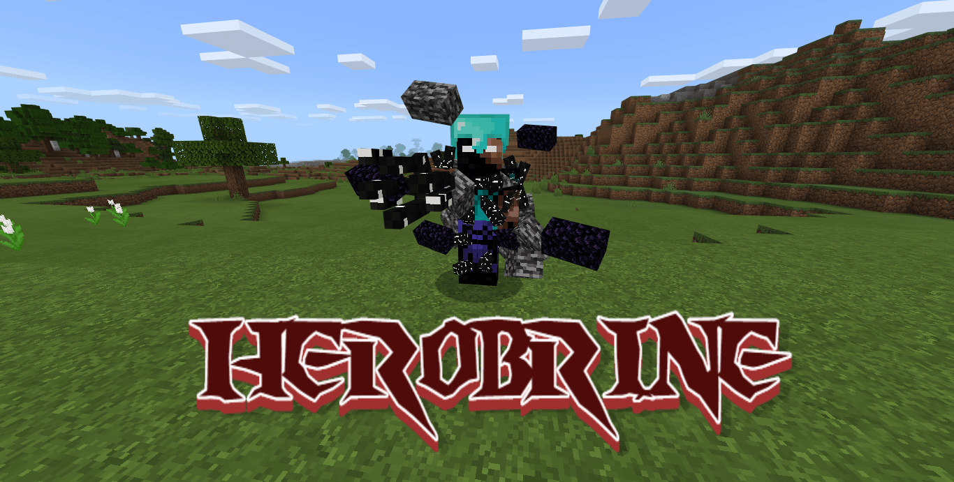 Мод Herobrine 1.12+