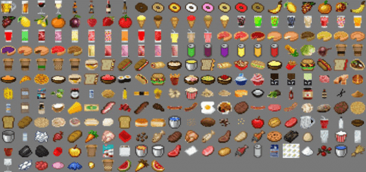 Мод Lots More Food 1.16