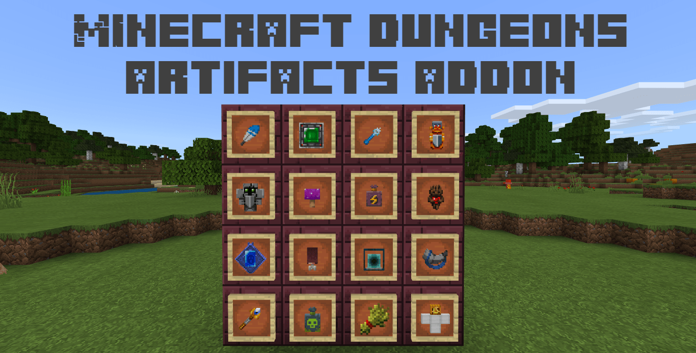 Мод Minecraft Dungeons Artifacts 1.16
