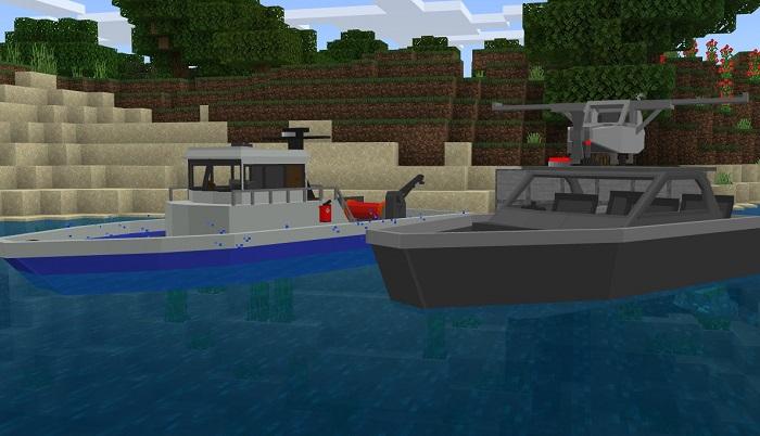 Мод Basic Survival Vehicles 1.16+