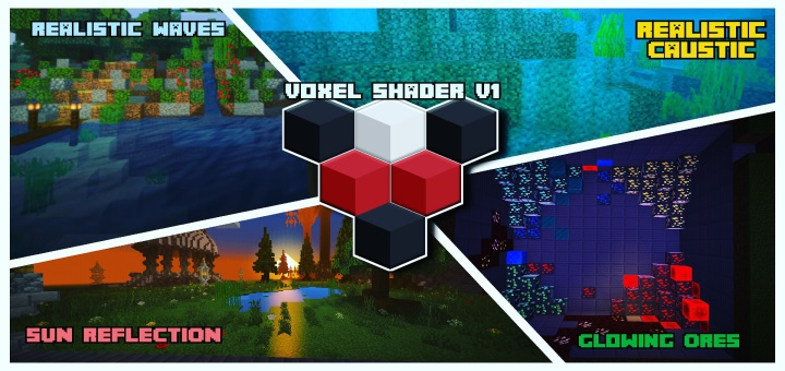 Шейдеры Voxel Shaders (Android) 1.16+