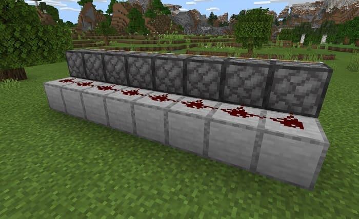 Вид сзади схемы фермы ягод