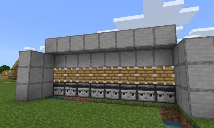 Закройте схему блоками